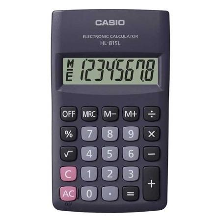 ماشین حساب کاسیو مدل HL-815L-BK