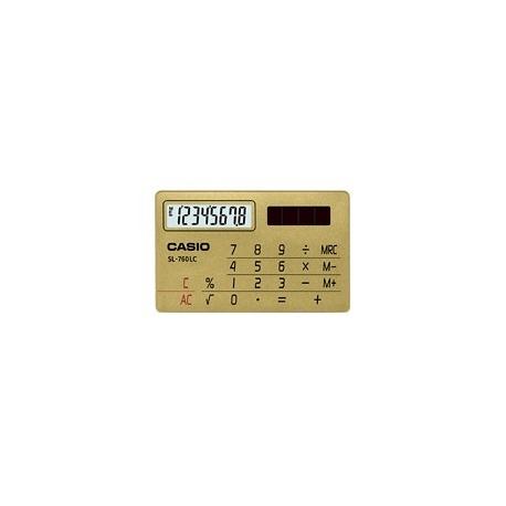 ماشین حساب کاسیو مدل  SL-760LB-GDB