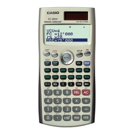 ماشین حساب کاسیو مدل FC-200V
