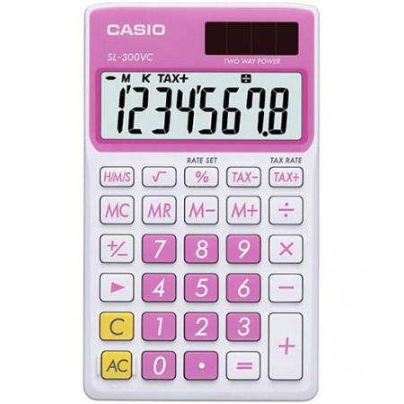 ماشین حساب کاسیو مدل SL300VC-PK