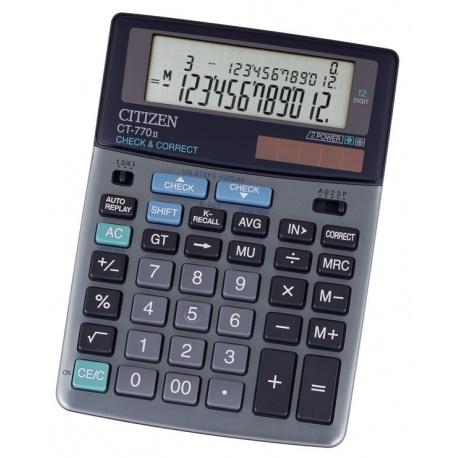 ماشين حساب سيتي زن مدل CT-770II