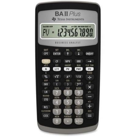 ماشین حساب تگزاس مدل BA II PLUS