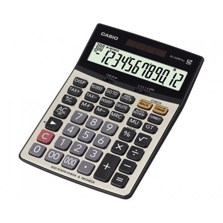 ماشین حساب کاسیو مدل DJ-220D Plus