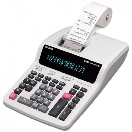 ماشین حساب چاپگر رومیزی کاسیو مدل DR-240TM