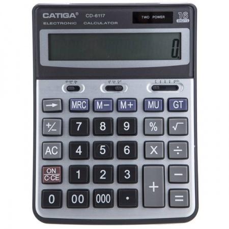 ماشین حساب کاتیگا مدل CD-6117