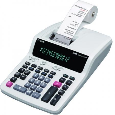 ماشین حساب چاپگرکاسیو مدل  DR-120TM-WE