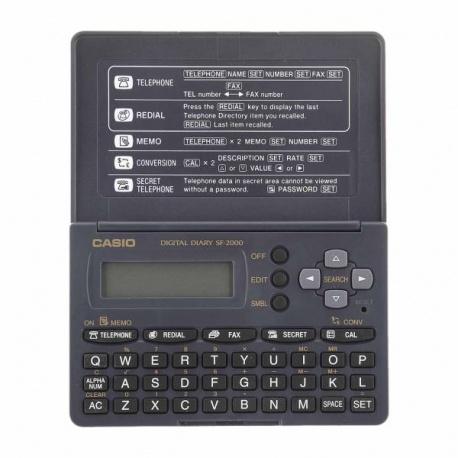 ماشین حساب و ارگانایزر کاسیو مدل SF-2000