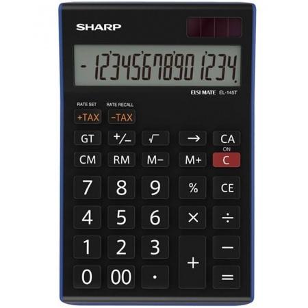 ماشین حساب شارپ مدل EL-145T BL